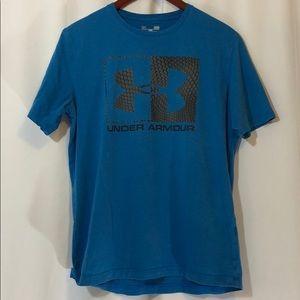 Under Armour Men's Loose Blue Shirt